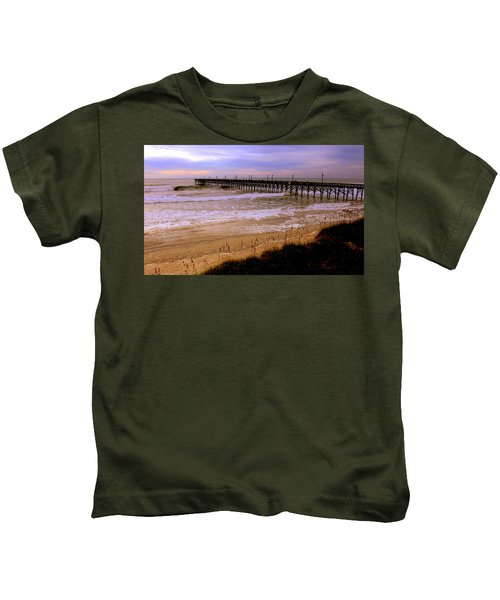 Surf City Pier Kids T-Shirt
