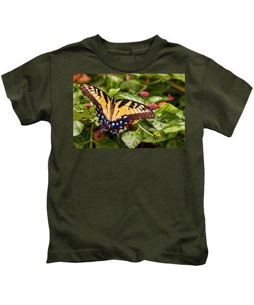 Swallowtail Beauty Kids T-Shirt