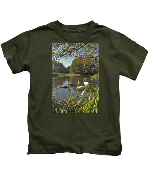 Swan Lake Kids T-Shirt