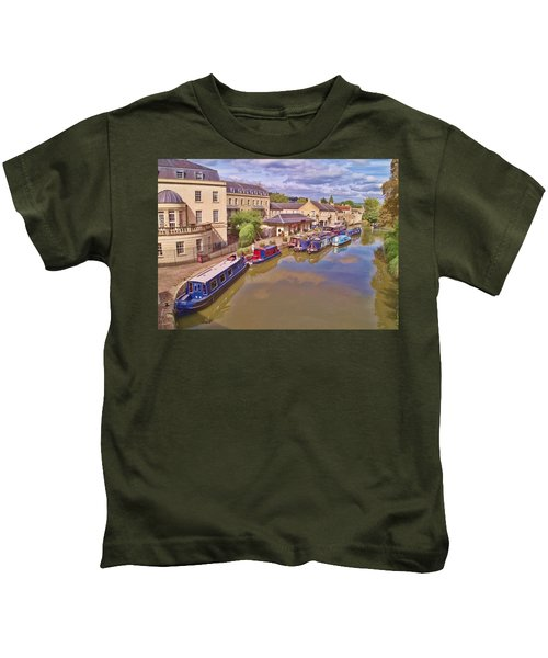 Sydney Wharf Bath Kids T-Shirt