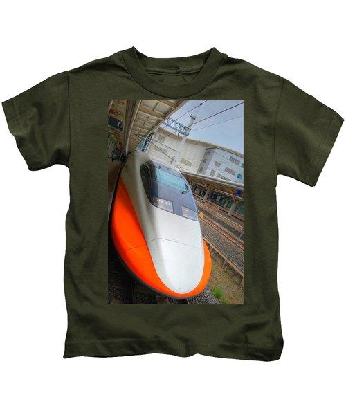 Taiwan Bullet Train Kids T-Shirt
