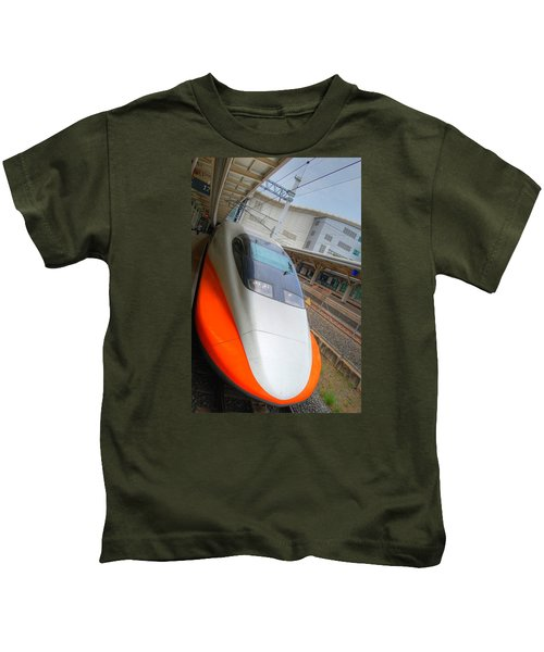 Taiwan Bullet Train Kids T-Shirt
