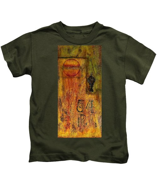 Tattered Wall  Kids T-Shirt