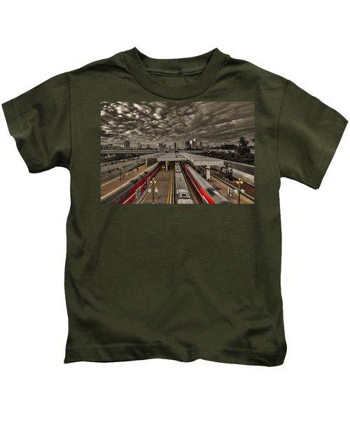 Tel Aviv Central Railway Station Kids T-Shirt