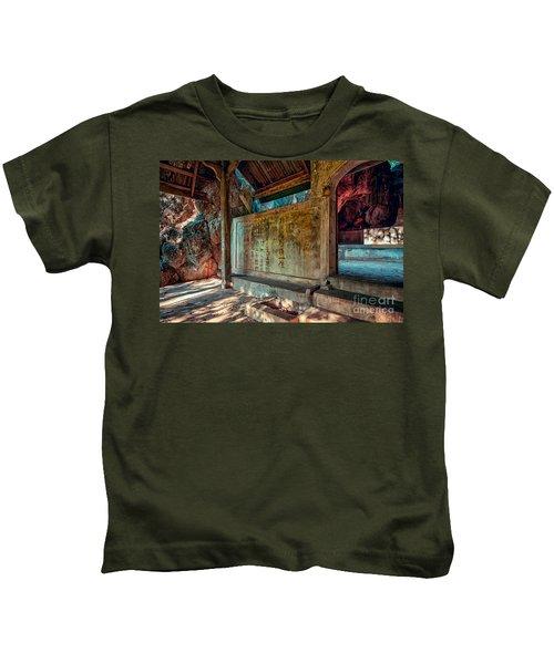 Temple Cave Kids T-Shirt