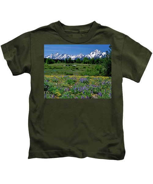 Teton Grandeur Kids T-Shirt