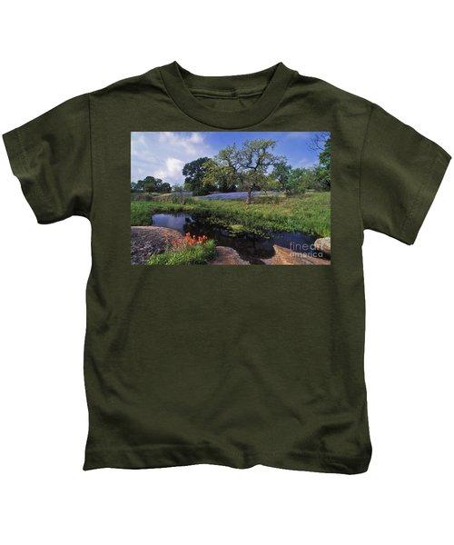 Texas Hill Country - Fs000056 Kids T-Shirt