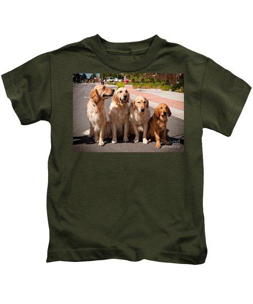 The Blond Team Kids T-Shirt