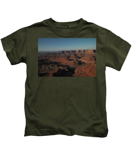 The Colorado River At Dead Horse State Park Kids T-Shirt
