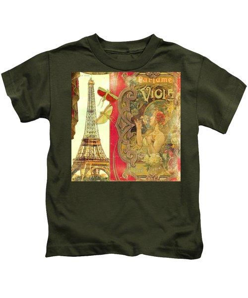 The Crickets Of Paris Kids T-Shirt