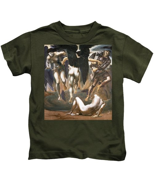 The Death Of Medusa II, 1882 Kids T-Shirt