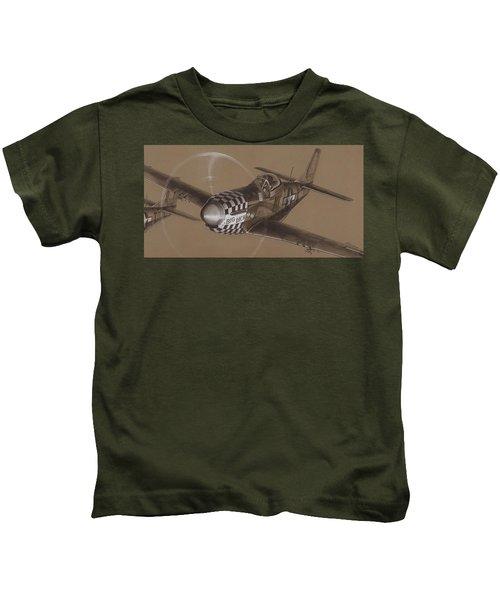 The Duxford Boys Drawing Kids T-Shirt