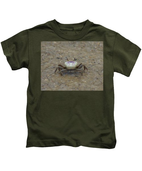 The Fiddler Crab On Hilton Head Island Kids T-Shirt