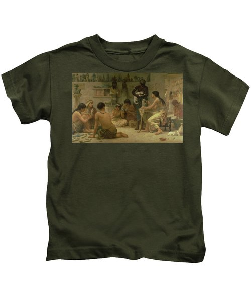 The Gods And Their Makers, 1878 Kids T-Shirt