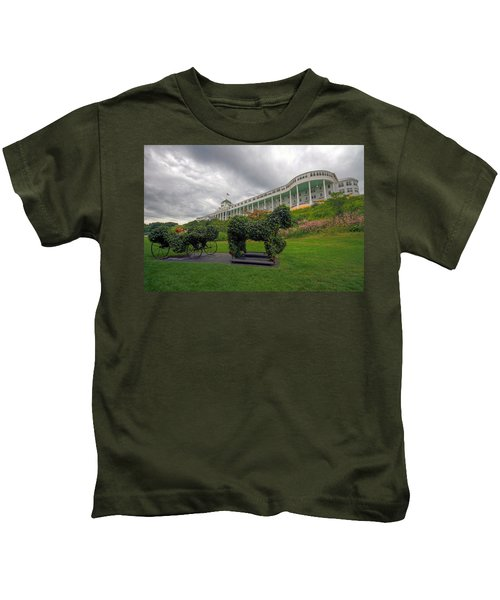 The Grand Hotel Mackinac Island Kids T-Shirt
