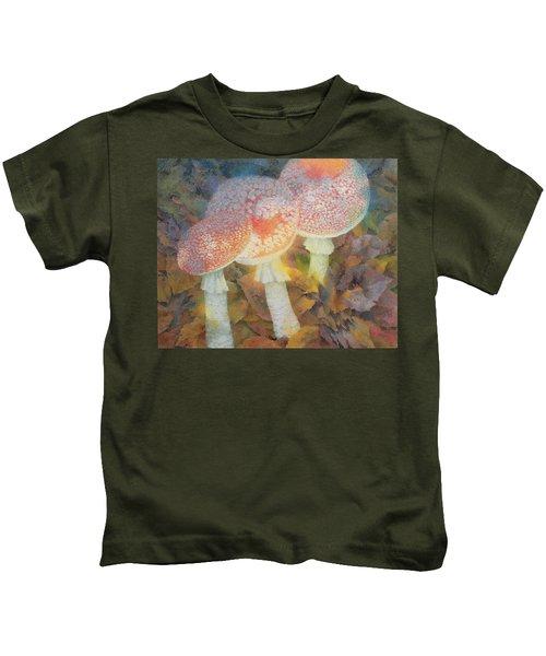The Green Man With Stinkhorns Kids T-Shirt