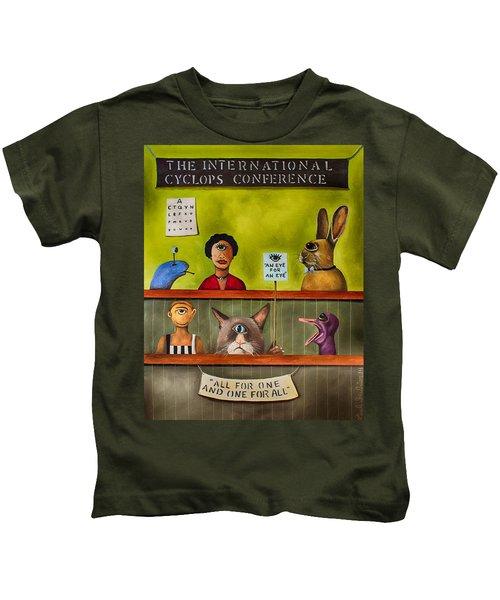 The International Cyclops Conference Edit 3 Kids T-Shirt