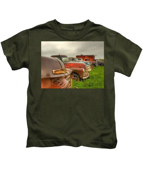 The Line Up 1 Kids T-Shirt