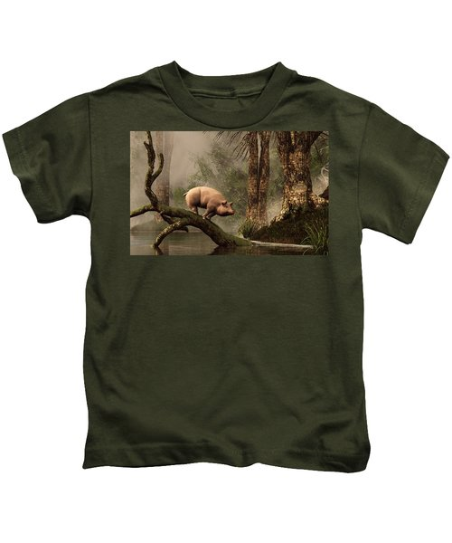 The Lost Pig Kids T-Shirt