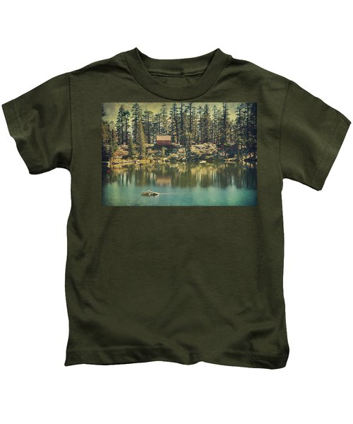 The Old Days By The Lake Kids T-Shirt