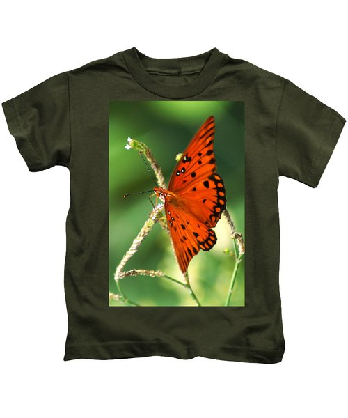 The Passion Butterfly Kids T-Shirt
