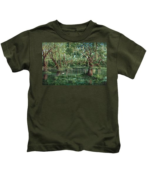 The Preacher And His Flock Kids T-Shirt