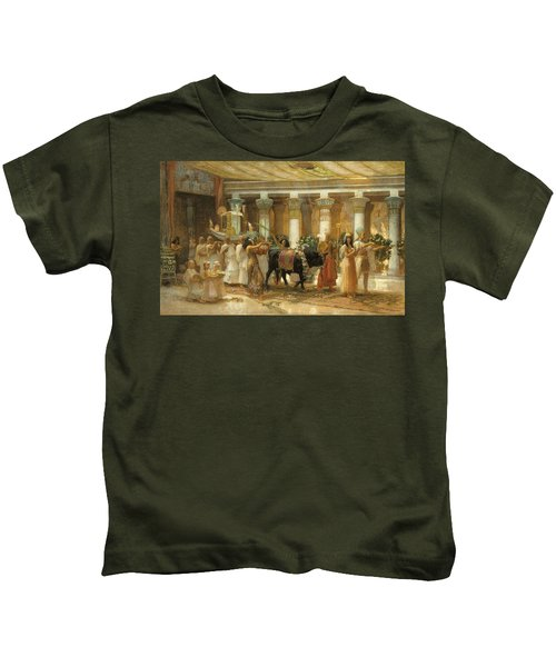 The Procession Of The Sacred Bull Kids T-Shirt