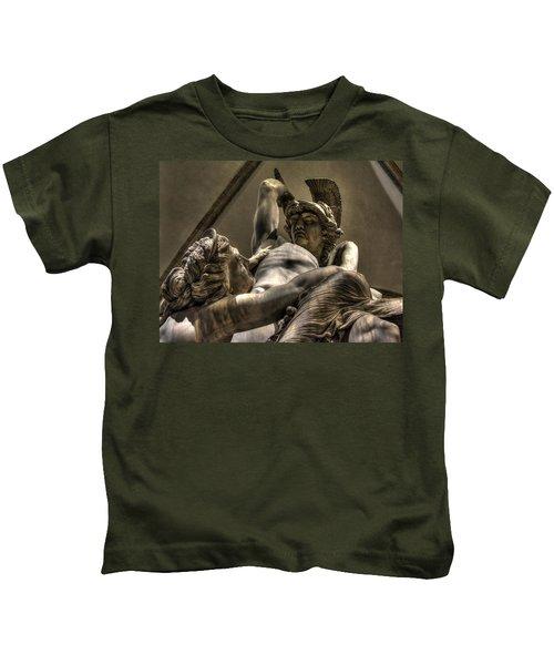 The Rape Of Polyxena Kids T-Shirt