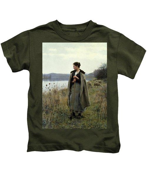 The Shepherdess Of Rolleboise Kids T-Shirt