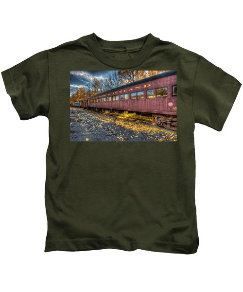 Kids T-Shirt featuring the photograph The Siding by William Jobes