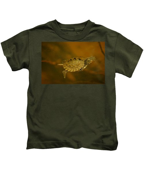 The Southeastern Map Turtle Kids T-Shirt