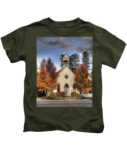 The Spirit Of Breckenridge Kids T-Shirt