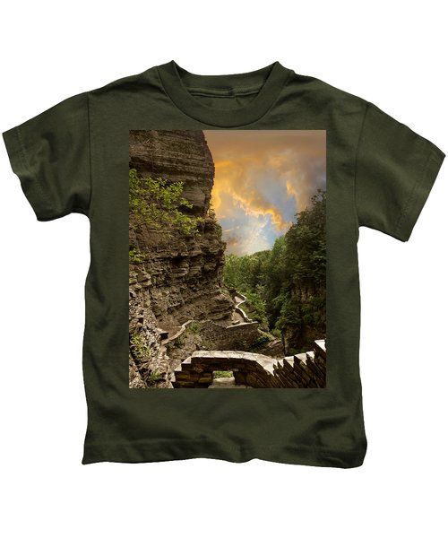 The Winding Trail Kids T-Shirt