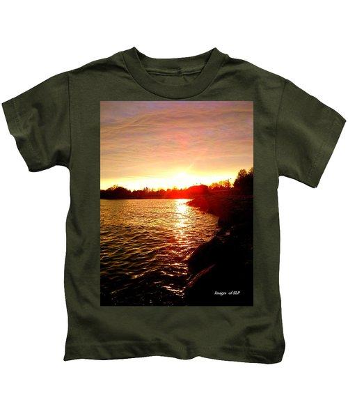 Thunder Bay Sunset Kids T-Shirt