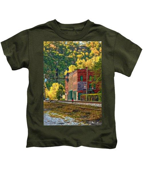 Thurmond Wv - Paint Kids T-Shirt