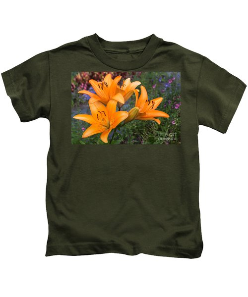 Tiger Lilies Kids T-Shirt