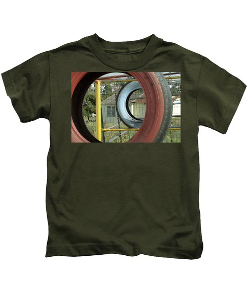 Tires In An Orphanage Kids T-Shirt