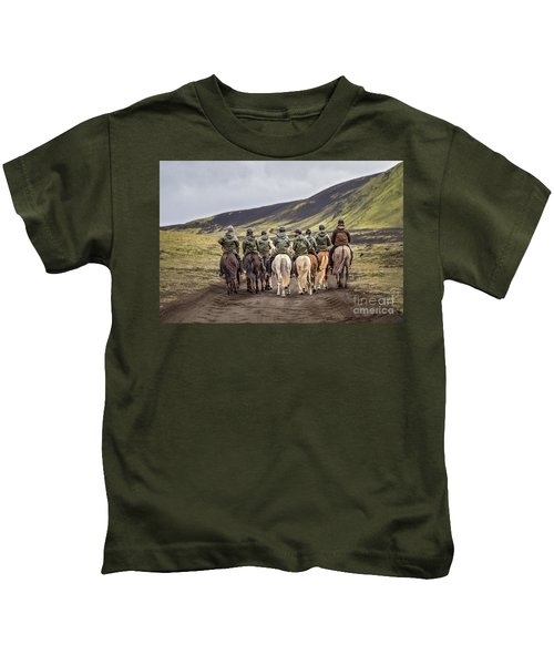 To Ride The Paths Of Legions Unknown Kids T-Shirt