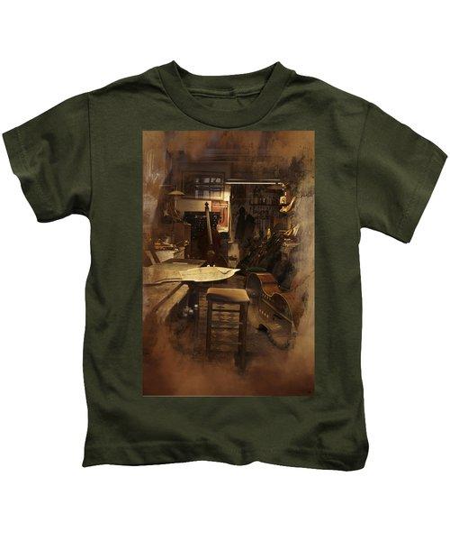 Tobacco Cello Kids T-Shirt