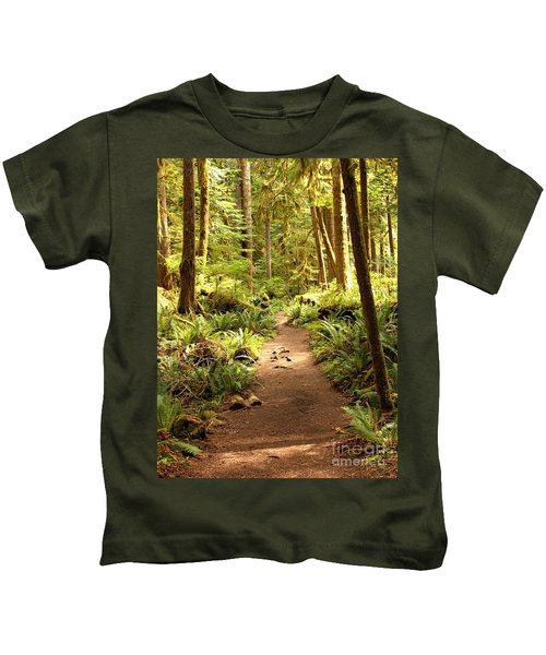 Trail Through The Rainforest Kids T-Shirt
