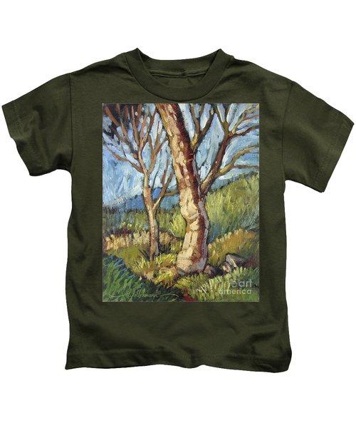 Trees In Spring Kids T-Shirt