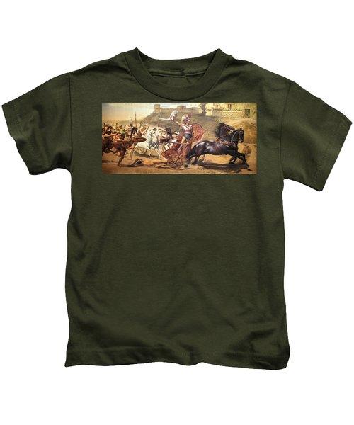 Triumphant Achilles Kids T-Shirt