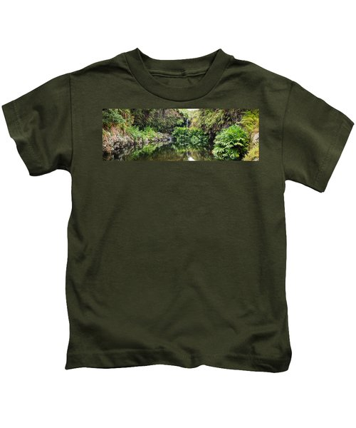 Tropical Reflections Kids T-Shirt