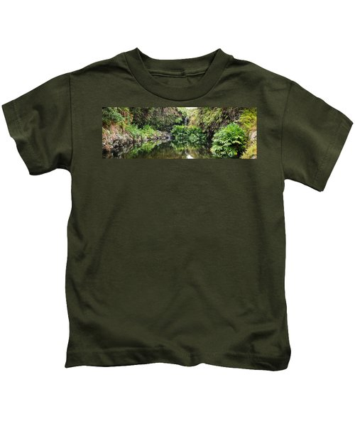 Tropical Reflections Kids T-Shirt