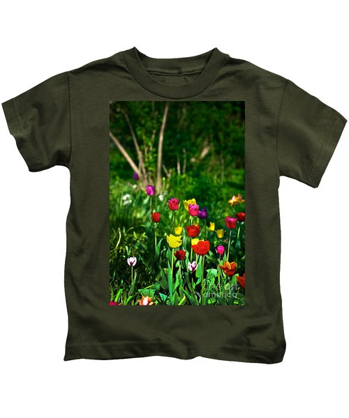 Tulip Rainbow Kids T-Shirt
