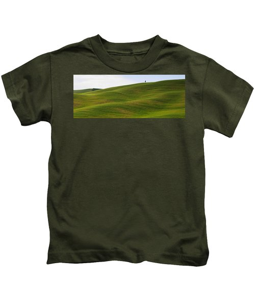 Tuscany Landscape Kids T-Shirt