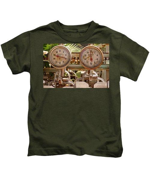 Two Farm Scales Kids T-Shirt