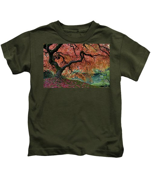 Under Fall's Cover Kids T-Shirt