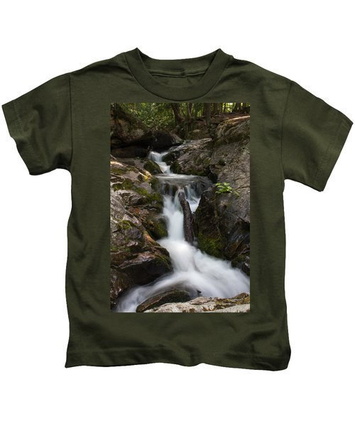 Upper Pup Creek Falls Kids T-Shirt