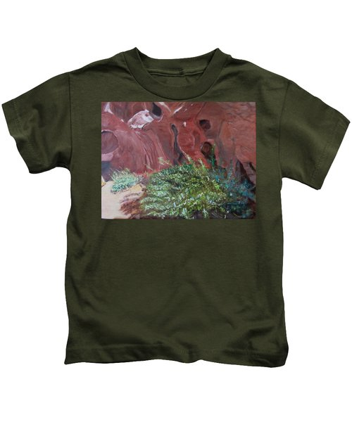 Valley Of Fire State Park Kids T-Shirt
